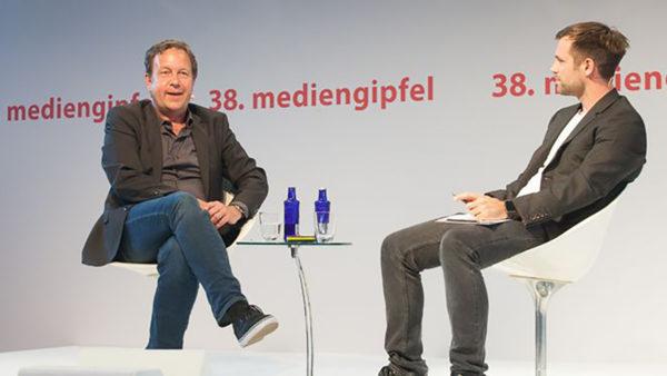 38. mediengipfel mit Ralf Kleber – Der Talk