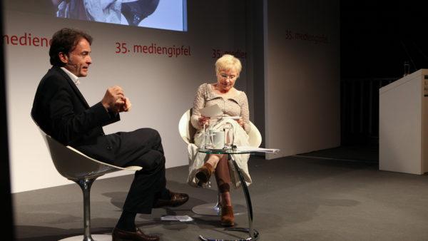 35. mediengipfel mit Giovanni di Lorenzo – Der Talk