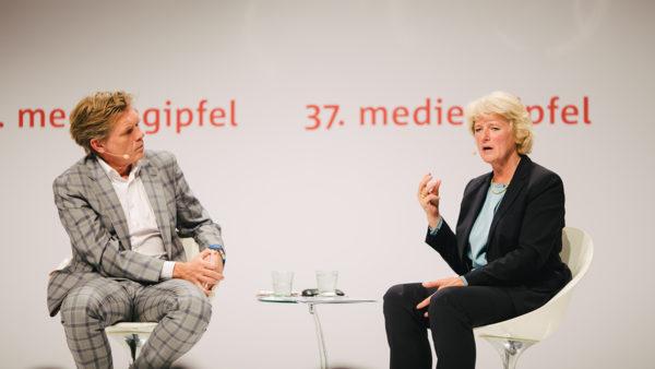 37. mediengipfel mit Kulturstaatsministerin Monika Grütters – Der Talk
