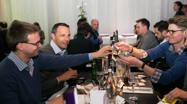 Matchmaking Dinner at International Games Week 2015