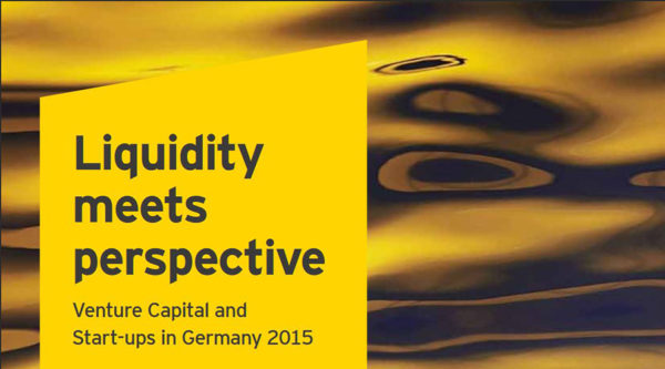 Liquidity meets perspective – Venture Capital and Start-ups in Germany 2015