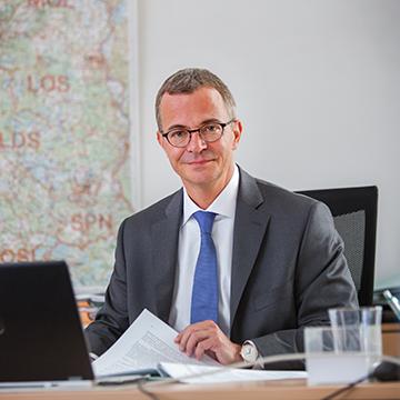 Albrecht Gerber, Minister für Wirtschaft und Energie des Landes Brandenburg