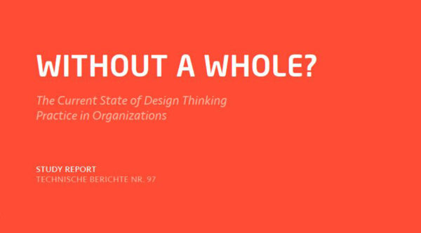 Design Thinking Study: Parts Without a Whole