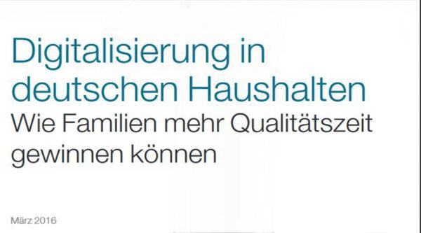 Digitalisierung in deutschen Haushalten