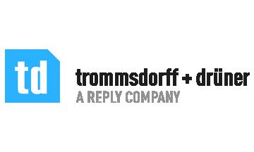 Trommsdorf + Drüner Logo 2017 transp
