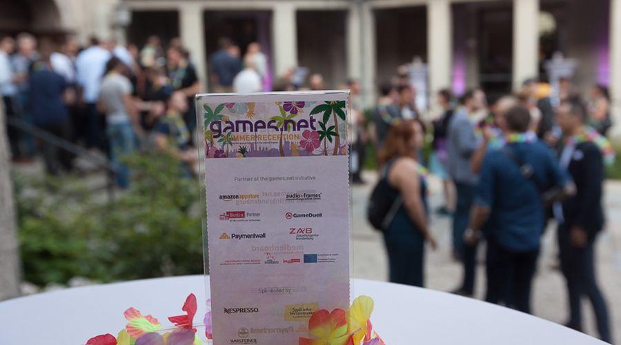 gamesnet Summer Reception
