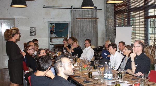 Crossover Dinner mit Walter de Gruyter