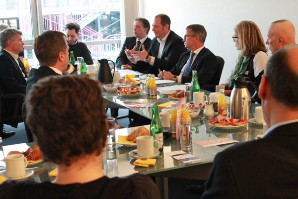 Roundtable: Startups in Berlin: Sexy, aber arm?