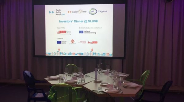 Investors' Dinner at SLUSH 2016