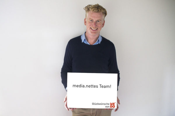 15 Jahre media.net – 15 Interviews: WE DO (Mitglied seit 2003)