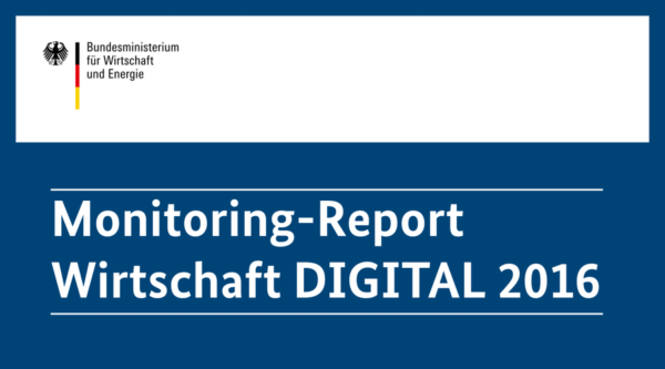 Monitoring-Report Wirtschaft DIGITAL