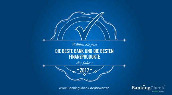 BankingCheck & eKomi Awards 2017 – Die Abstimmungsperiode um die renommierten Awards hat begonnen