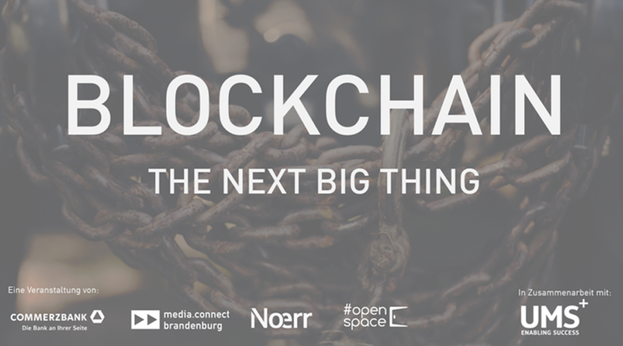 Blockchain the next big thing