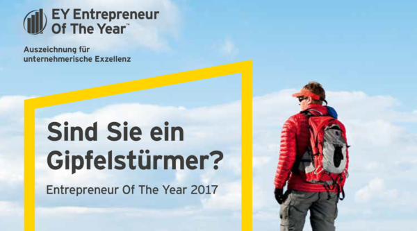 Entrepreneur Of The Year Award – Anerkennung für die Besten