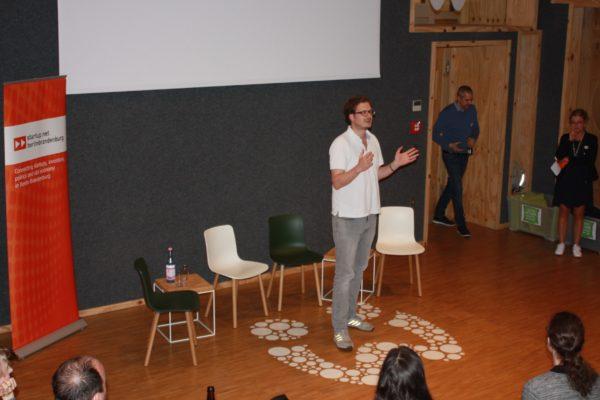 startup:netCLUB bei Wooga