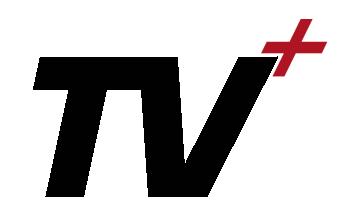 TV Plus black transp