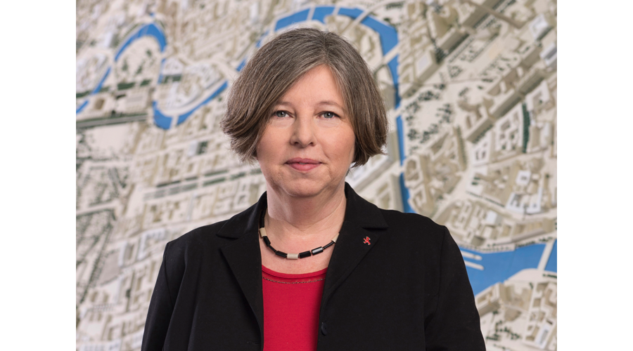 Katrin Lompscher Politischer Morgen Senatorin für Stadtentwicklung und Wohnen Copyright Marco Urban