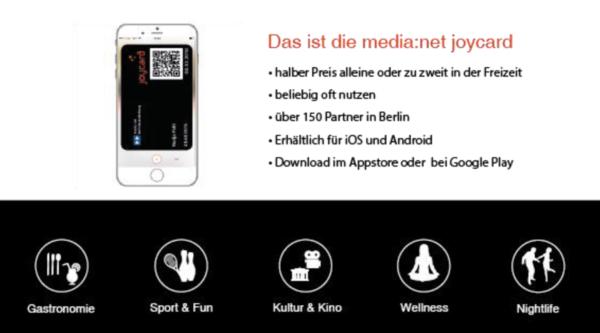 joycard: Die digitale media:net-Mitgliedskarte für alle Mitarbeiter