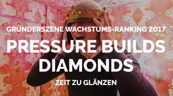 Gründerszene Wachstums-Ranking: Jetzt bewerben!
