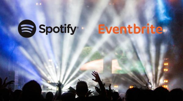 Eventbrite und Spotify kooperieren