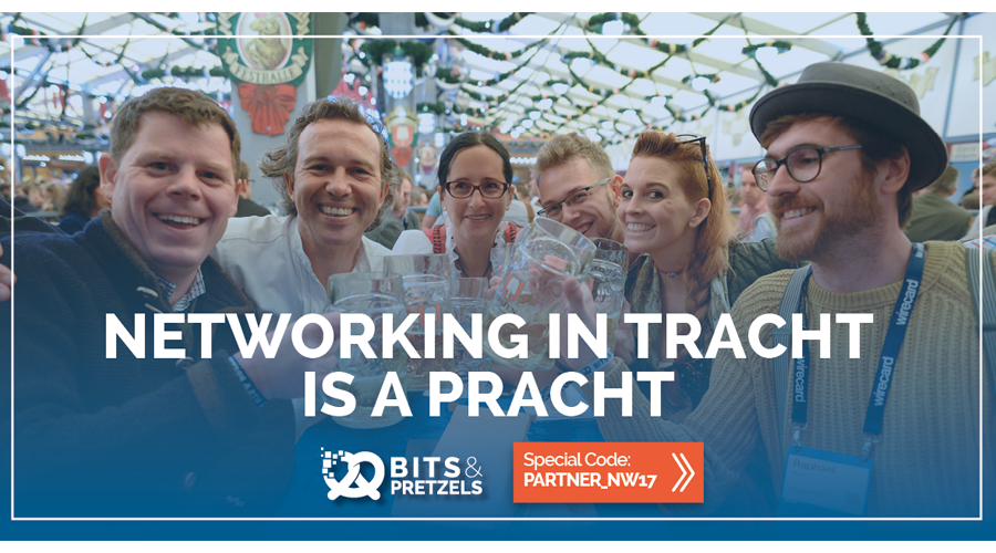 Bits and Pretzels Networking in Tracht