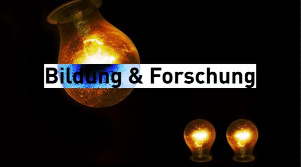 """Wahlkompass Digitales: """"Bildung & Forschung"""""""