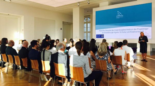 Brandenburger Agentur für Kultur und Kreativwirtschaft startet