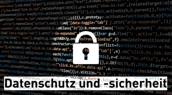 """Wahlkompass Digitales: """"Datenschutz und Datensicherheit"""""""