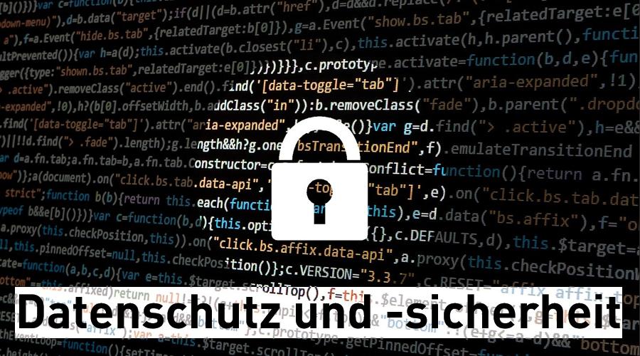 Titelbild Datenschutz und Datensicherheit