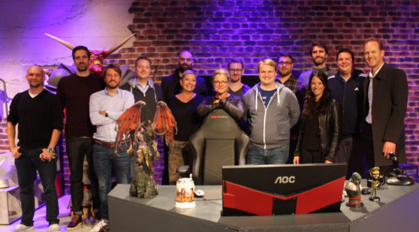 games:net behind the scenes: Freaks 4U Gaming GmbH Studio Tour 2017
