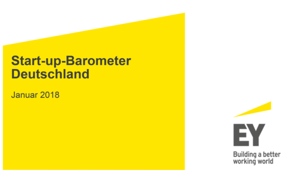 Start-up-Barometer Deutschland 2018