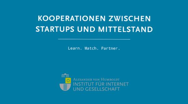 Studie Kooperationen zwischen Startups und Mittelstand