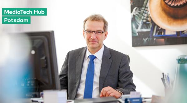 """Potsdam wird MediaTech-Hotspot: """"3 Fragen an…"""" Hendrik Fischer, Staatssekretär im Ministerium für Wirtschaft und Energie"""