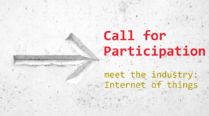 Call for Participation: Internet of Things