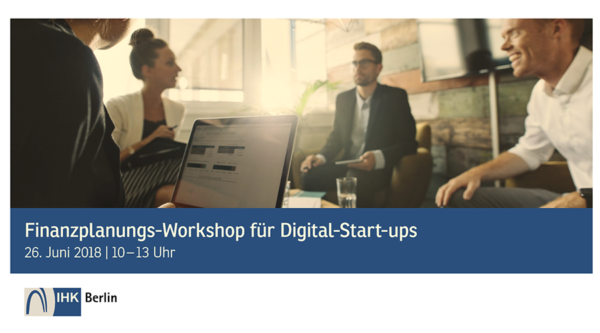 startup:net COOP: Finanzplanungs-Workshop für Digital-Start-ups