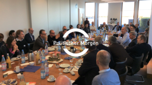 Politischer Morgen with Monika Grütters,  Federal Government Commissioner for Culture and Media