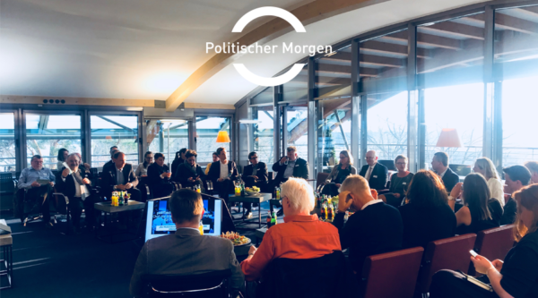 Save the Date: Politischer Morgen with Ramona Pop, senator for Economics, Energy and Public Enterprises of the state Berlin