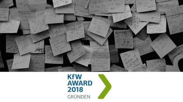 KfW Award Gründen 2018