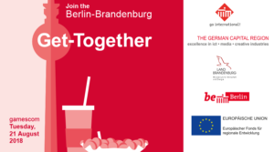 gamescom 2018: Berlin-Brandenburg Get-Together @ GAMES – MADE IN BERLIN-BRANDENBURG