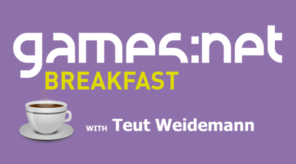 games:net BREAKFAST with Teut Weidemann – Monetization – Money makes the game go round?