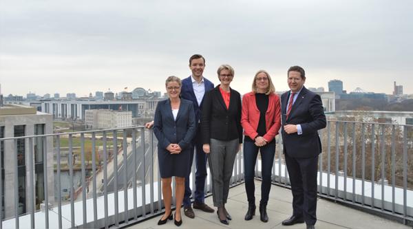 Politischer Morgen mit Anja Karliczek, Bundesministerin für Bildung und Forschung