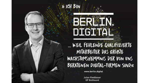 berlin.digital Interview mit Julian Riedlbauer, GP Bullhound