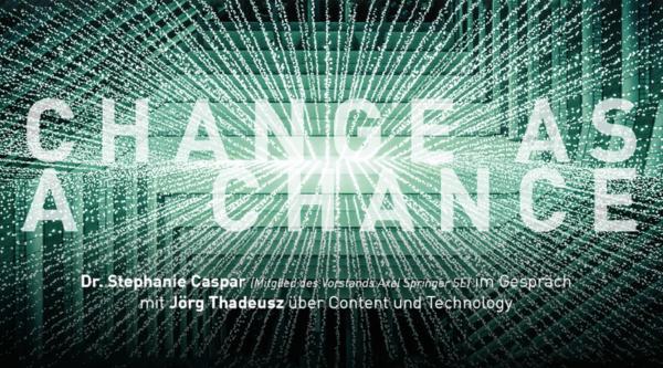 44. mediengipfel mit Dr. Stephanie Caspar (Mitglied des Vorstands der Axel Springer SE) – Der Trailer