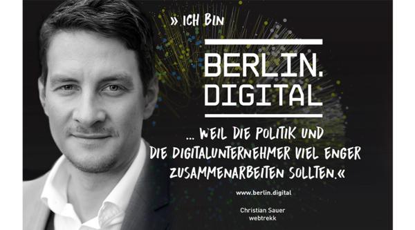 berlin.digital Interview mit Christian Sauer, Board Member und Gründer von Webtrekk