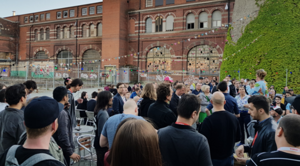 Warm Up Reception at Nordic Game in Malmö Vol. 3