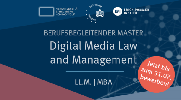 media:net COOP: Digital Media Law and Management LL.M. | MBA