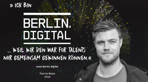 berlin.digital Interview mit Patrick Bales, CEO Stoyo