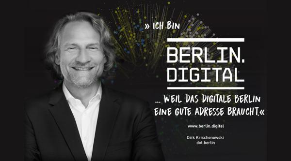 berlin.digital Interview mit Dirk Krischenowski, Gründer und Geschäftsführer dot.berlin