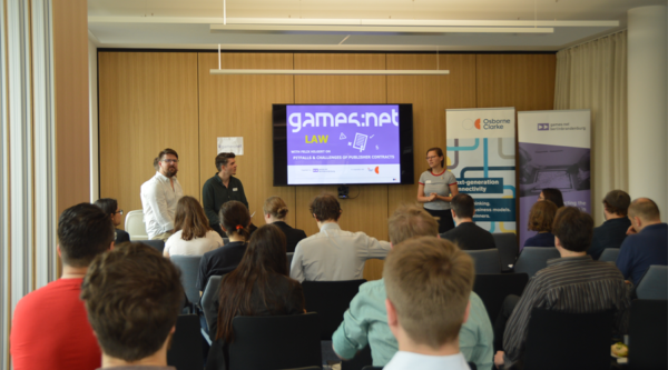 games:net LAW with Felix Hilgert – legal pitfalls & challenges of publisher contracts
