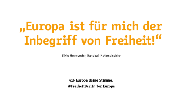 #FreiheitBerlin for Europe